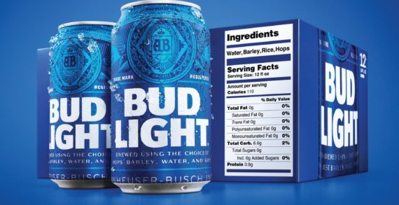 Bud Light Elevates Transparency in the Beer Industry with New On-Pack Ingredients Label