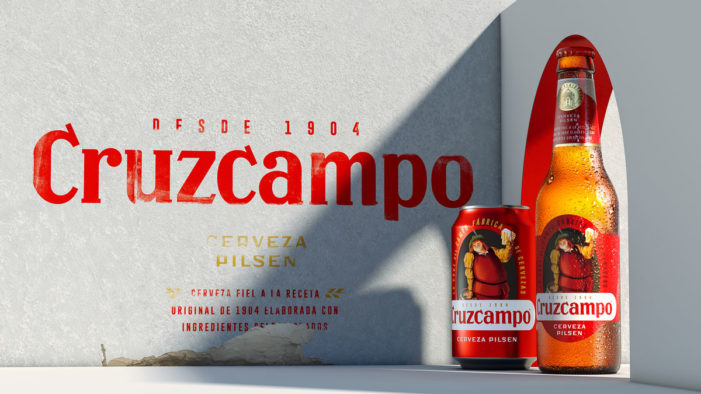 Cruzcampo Rediscovers Its Historic Character with New Brand Visual Identity by Bulletproof