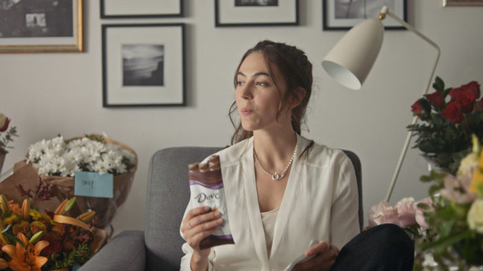 DOVE Chocolate Celebrates the Bold, Unapologetic, Pleasure-Seeking Woman of Today in New Campaign