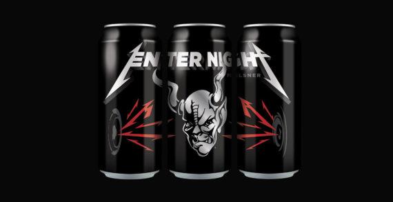 Music Legends Metallica Team with Arrogant Consortia to Launch Enter Night Pilsner