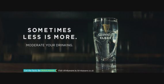AMV BBDO and Guinness Rebrand Tap Water to Guinness Clear
