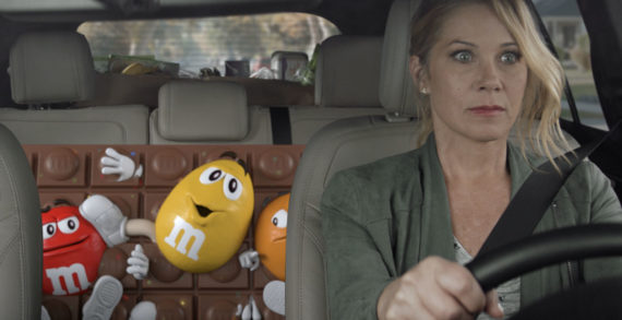 M&M's Super Bowl Ad Features Christina Applegate and their New Chocolate Bars