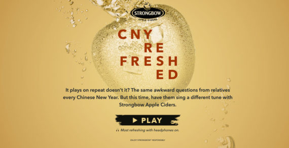 Strongbow Apple Ciders Refreshes Chinese New Year with a Cider Made Playlist