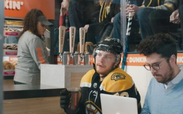 David Pastrňák and Dunkin' Team Up for a New Campaign to Prove Where There's Hockey, There's Dunkin'
