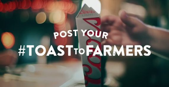 Coors Light Toasts Farmers in Response to Bud Light's Super Bowl Campaign