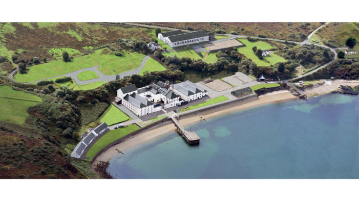 Bunnahabhain's Distillery Transformation Begins in Scotland