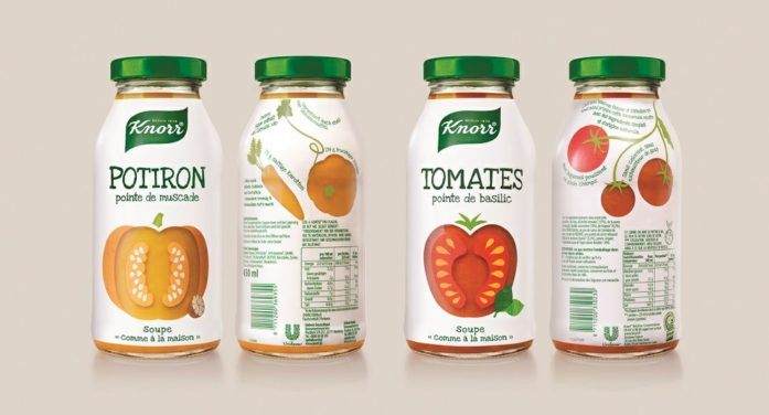 Anthem Benelux Team Design Transparent Authenticity For Unilever's Knorr Ambient Soups