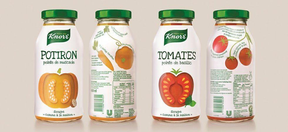 Anthem Benelux Team Design Transparent Authenticity For Unilever's Knorr Ambient Soups