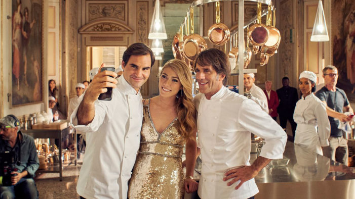 Roger Federer and Mikaela Shiffrin Bring the Party to the Kitchen for Barilla Pasta