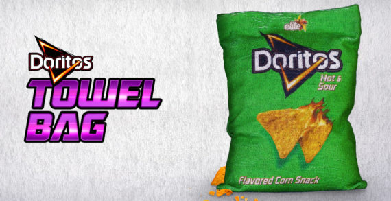 Doritos' Crumby Problem Solved with Special Towel Bag via Gefen Team