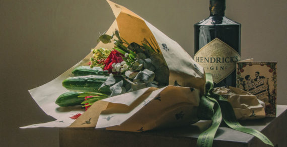 Hendrick's Gin Turns the Cucumber into an Unlikely Valentine's Day Star in Singapore