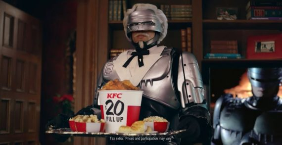 KFC Names RoboCop as its Newest Colonel – and Guardian of its Coveted Secret Recipe of 11 Herbs and Spices