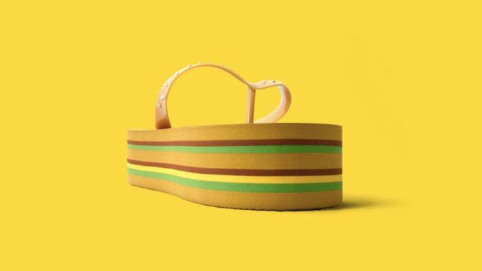 McDonald's and DDB New Zealand Celebrate Big Mac's 50th Birthday with Kiwi Big Mac Jandals