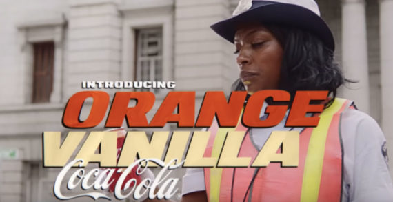 Coca-Cola's Debut Spot for Orange Vanilla Coke is a Fun, Vintage Style Car Chase