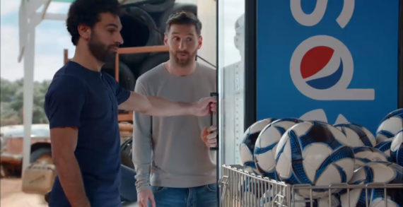 Lionel Messi and Mohamed Salah Go All In for the Love of Pepsi