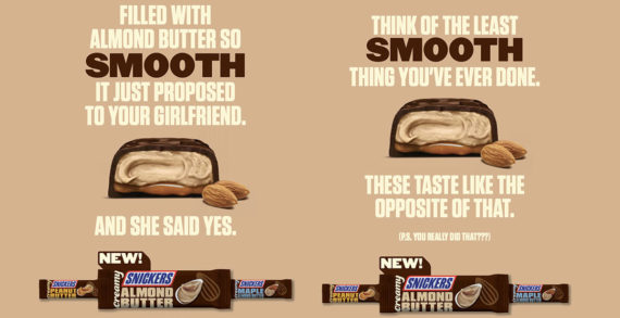 New Creamy SNICKERS 360 Campaign Helps Smooth Things Over