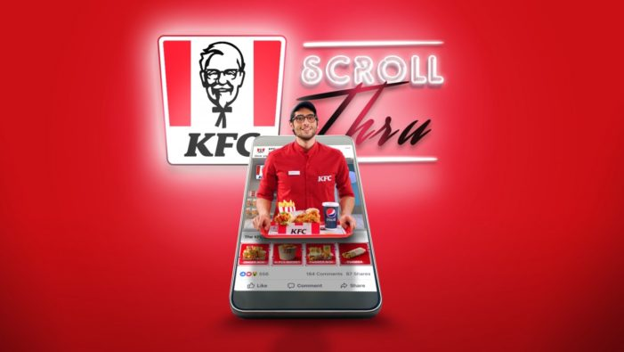 KFC Middle East Creates Social Media Drive Thru Ad So Feed-Scrollers Get Fed