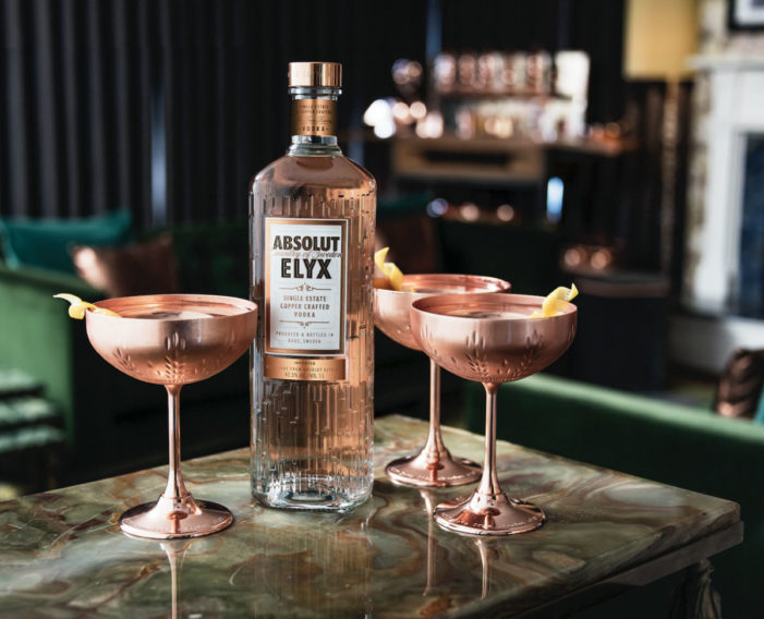 Absolut Elyx Unveils Copper-Inspired Redesign by Stranger & Stranger