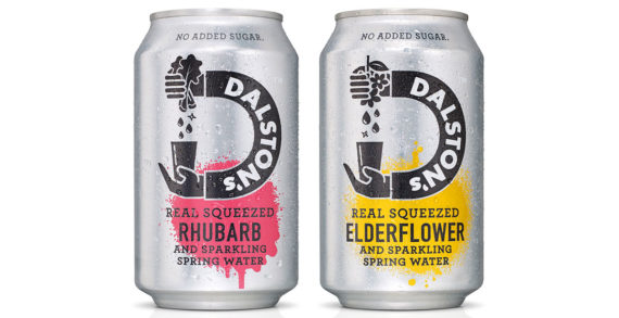 B&B Studio Teams with Craft Drinks Brand Dalston's on New Soda Lights Range