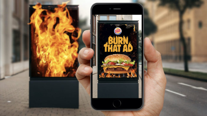 Burger King App Lets Users 'Burn' Rival Fast Food Ads in Exchange for Free Whopper