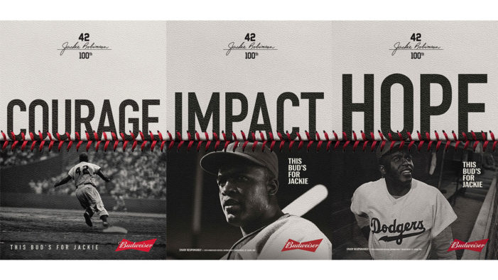 Budweiser Teams with Spike Lee to Celebrate the Centennial of Jackie Robinson