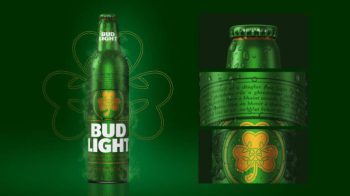 Bud Light Goes Green to Celebrate St. Patrick's Day