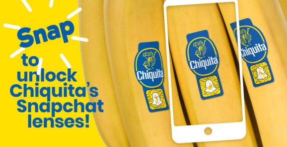 Chiquita Teams with Snapchat Ahead of World Banana Day