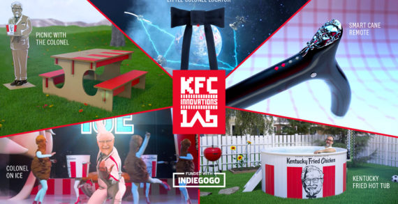 KFC Launches New Crowdfunding Campaign to Turn their Craziest Marketing Ideas into a Reality