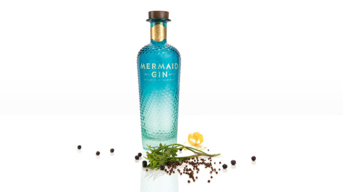 Mermaid Gin Unveils Striking New Sculpted Bottle Following Research and Investment Programme