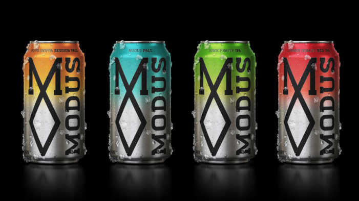 Co-Partnership Provide Sleek New Branding for Modus Operandi Brewing Co's Beer Cans