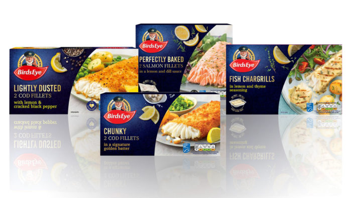 Birds Eye Brings Premium Fish Under the Captain Birds Eye Range as it Waves Goodbye to its Inspirations Sub-Brand
