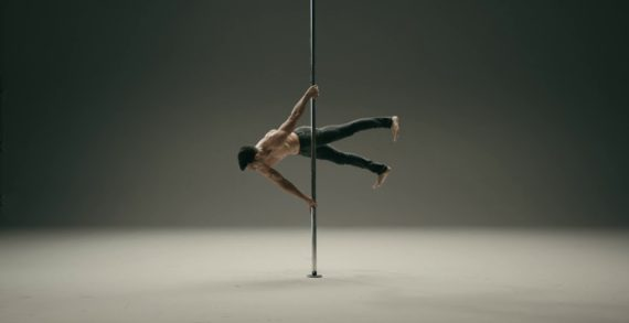 A Male Pole Dancing Champion Laughs at Haters in New Sprite Ad by SANTO Buenos Aires
