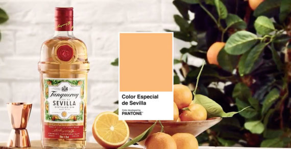 New Tanqueray Ad Announces that Seville has a Certified Pantone Colour