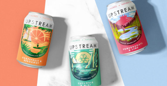 Robot Food Brings a Sparkle to the Everyday with New Brand Upstream