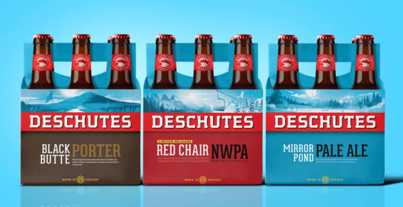 Deschutes Brewery Doubles Down on its Brand with New Branding by Perspective: Branding