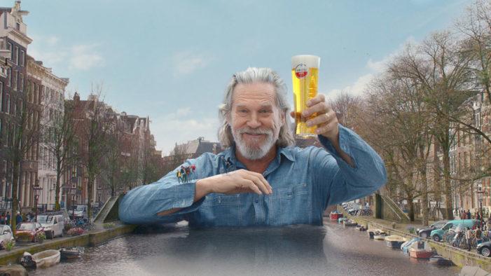 Jeff Bridges Becomes a Giant in Amstel's New 'Bridges on Bridges' TV Campaign