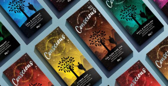 The Space Creative Rebrands Conscious, Giving the Brand Greater Appeal to the Mass Market