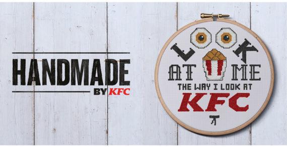 Iris and KFC Launch Cross-Stitch Chicken And It's Finger Stitchin' Good!