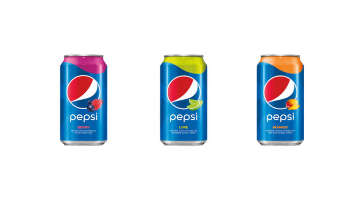 Pepsi Introduces Three New Flavours Made with a Splash of Real Fruit Juice