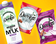 Slice Design Brands New Plant-Based Brand Qwrkee to Shake up the Vegan Snacking Market