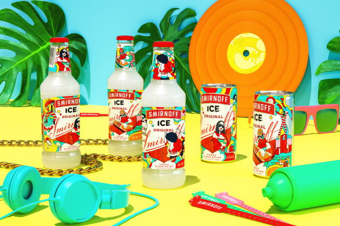Smirnoff Ice Celebrates Musical Expression in Latin American via a Limited Edition Range by Vault49