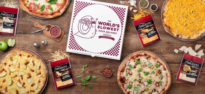 Sargento Launches the World's Slowest Pizza Delivery