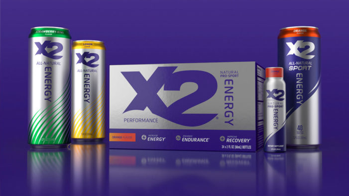 X2 All Natural Energy Drink Rebrand Supports Natural Alternative