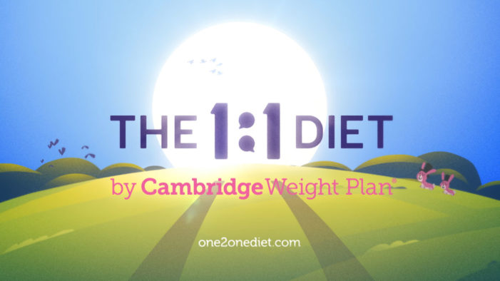 The 1:1 Diet by Cambridge Weight Plan to Hit TV Screens for the First Time