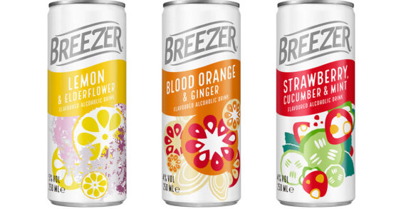 Bacardi Limited Announces the Launch of Breezer in the UK