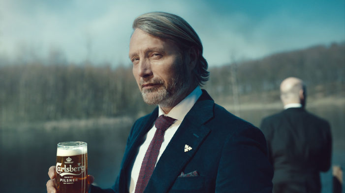 Mads Mikkelsen Deals with the Person Responsible for Carlsberg's Old Beer in the UK. Probably.