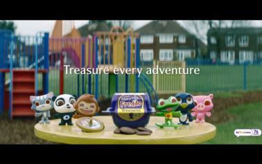 Cadbury Dairy Milk Freddo Treasures Sails onto Screens for First Time, to Inspire Everyday Family Adventures