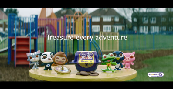 Cadbury Dairy Milk Freddo Treasures Sails onto Screens for First Time, to Inspire Everyday Family Adventures