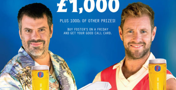 Foster's Friday Campaign Looks to Kick Off the Weekend with the Return of Brad and Dan