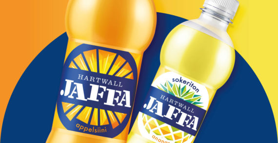 BrandMe Provides Fresh New Look for Finland's Most Authentic and Best Loved Soft Drink, Jaffa